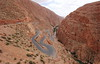Twist and Shout (Eye of Brice Retailleau) Tags: angle beauty composition landscape nature outdoor panorama paysage perspective scenery scenic view extérieur vanishing point backpacking travel wide earth mountain mountains road route maroc morocco atlas montagne canyon gap dades turns