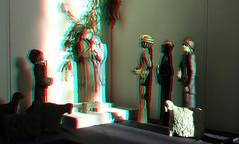 Kerststal Stevenskerk Nijmegen 3D (wim hoppenbrouwers) Tags: anaglyph stereo redcyan kerststal stevenskerk nijmegen 3d