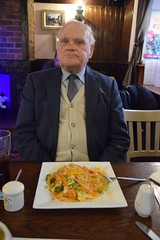 DSC_7244 Brigg North Lincolnshire The White Hart English Pub Prawn Pad Thai Noodles with Geoff Spafford (photographer695) Tags: brigg north lincolnshire with geoff spafford the white hart english pub pad thai noodles prawn