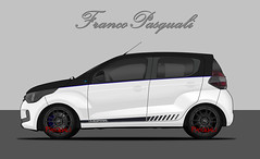 Fiat Mobi Mopar (Franco Pasquali) Tags: fiat mobi mopar sport car cardesign cars tuning deportivo euro edits edition photoshop racing rims oz wheels white black