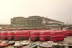 Works Transport (ekawrecker) Tags: bus factory buses aec