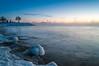 Cold Shores (Jackx001) Tags: 31°c december312017 jacknobre nature photography toronto cold fog freezingcold lakeontario lastsunrise sunrise winter lakeshore