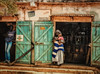 Shopping in The Gambia (Laura Drury) Tags: gambia shopping africa holiday baby summer shop mother west stores