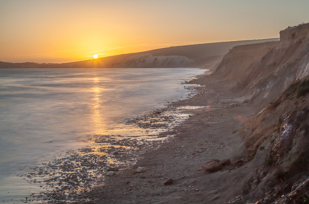 Sunset, Compton Bay, Isle of Wight