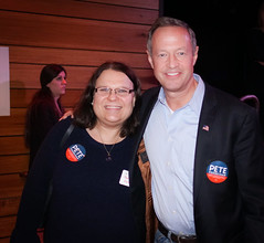 2018.01.06 Out for Pete II with Martin O'Malley and Danica Roem, Washington, DC USA 2210
