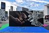 Bane  •  Pest (HBA_JIJO) Tags: streetart urban graffiti animal art france artist hbajijo painting aerosol oiseau peinture bird spray paris92 bombing urbain pest charactere urbaine undergroundeffect projetsaato main mano festival culture puteaux bane rougegorge