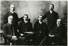 UofM Faculty of Science Professors, 1904 (vintage.winnipeg) Tags: winnipeg manitoba canada vintage history historic universityofmanitoba people