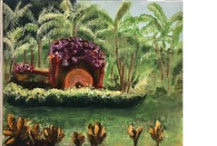 Costa Rica Flower Cart
