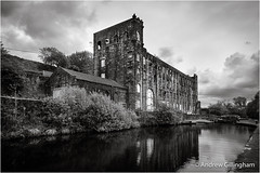 3_Yorkshire-0650 (AndyG01) Tags: calderbrook littleborough yorkshire lock lockgate mill rook knock