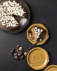 About yesterday :) (V. Maradin) Tags: cake chocolate nuts hazelnut almond walnut guiltfree glutenfree baking food foodstyling foodphotography topview onthetable nikon nikonphotography