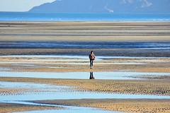Tidal flat (thomasgorman1) Tags: person woman nikon flat tidal tides nature sea cortez mexico