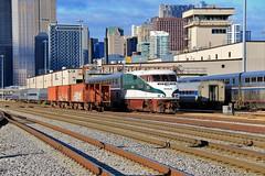 14th Street Miracle (BravoDelta1999) Tags: amtrak amtk 14thstreet coach yard shops pennsylvaniarailroad prr railroad chicago illinois cascades emd f59phi 465