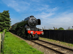 Flying Scotsman at Didcot 2 (Railway-Fox) Tags: didcot railway centre lner pacific flying scotsman 60103 4472