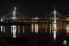 Puente de Rande (David Castro Rodriguez) Tags: puente de rande tag vigo like ap9 water night reflexes sea obras colgante aire libre follow like4like nikon nikkor tokina