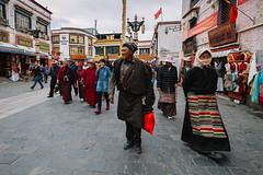 Pilgrims (Mathijs Buijs) Tags: pilgrim circumambulation kora lhasa buddha buddhist holy city center canon eos 7d barkhor jokhang temple monastery himalaya tibet
