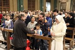 """05.10.2017 dopo la pizzata in Oratorio S.Rosario interparrocchiale con il nuovo Vescovo e saluto finale ai Cresimandi (1) • <a style=""""font-size:0.8em;"""" href=""""http://www.flickr.com/photos/82334474@N06/39116260571/"""" target=""""_blank"""">View on Flickr</a>"""