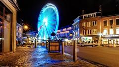 la Grande Roue (ΨᗩSᗰIᘉᗴ HᗴᘉS +22 000 000 thx) Tags: namur namurbynight roue lagranderoue fête fest night hensyasmine yasminehens nuit city town road street