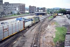 D&H GP39-2 #7406 at Binghampton NY  7/17/79 (LE_Irvin) Tags: binghamptonny dh gp392