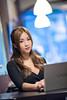 DSC_3954 (Robin Huang 35) Tags: 陳姿含 karry 板橋書店 書店 人像 portrait lady girl nikon d810 nb notebook sony vaio