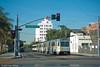 LOS ANGELES--102 at 8th Street/Long Beach Blvd. IB (milantram) Tags: electricrailtransport railsystemslosangeles losangeles lacmta blueline streetcars trolleys trams lightrail