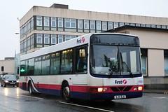61654 SJ51DJU First Glasgow (busmanscotland) Tags: 61654 sj51dju first glasgow sj51 dju volvo b10ble wright renown sv644