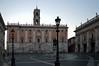 Alba invernale a Piazza del Campidoglio (giorgiorodano46) Tags: dicembre2015 december 2015 giorgiorodano nikon roma italy campidoglio piazza square michelangelo dusk