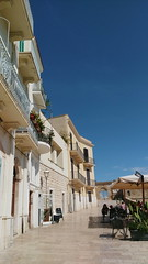 Bari (lauralghtmr) Tags: italy vacation autumn smartphone smartphonephotography htc htconea9 vsco vscocam bari palmen palmtrees architecture blue bluesky