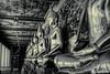 Buddha's statue (Lцdо\/іс) Tags: buddha noiretblanc blackandwhite black bw lцdоіс thailande thailand thailandia bangkok wat suthat travel citytrip city temple buddhisme