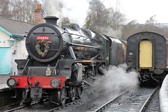 Black 5 44806 at Grosmont (Alun EH) Tags: railway railroad br britishrail britishrailways nymr northyorkshiremoorsrailway railways black5 stanier 44806 grosmont