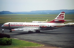 Sterling Caravelle (Martyn Cartledge / www.aspphotography.net) Tags: air aircraft airplane airport aspphotography aviation caravelle cartledge flight fly flying martyn oysth plane runway sterling sudaviation transport wwwaspphotographynet asp photography