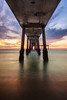 Long Sight (romainguy) Tags: neutralgradient beach landscape winter season circularpolarizer water time filter final ocean sunset pier filters filtre filtres production