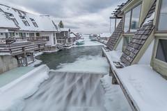 Fishtown (Aaron Springer) Tags: michigan northernmichigan lakemichigan thegreatlakes fishtown leland wharf tug boat weather winter january ice snow janicesue joy mishemokwa outdoor landscape