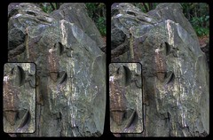 Machining marks in Devil's Wall? 3-D / CrossEye / Stereoscopy / HDR / Raw (Stereotron) Tags: sachsenanhalt saxonyanhalt ostfalen harz mountains gebirge ostfalia hardt hart hercynia harzgau blankenburg teufelsmauer grosvaterfelsen suspicouslymeasured electricuniverse plasmageology crosseye crosseyed crossview xview cross eye pair freeview sidebyside sbs kreuzblick 3d 3dphoto 3dstereo 3rddimension spatial stereo stereo3d stereophoto stereophotography stereoscopic stereoscopy stereotron threedimensional stereoview stereophotomaker stereophotograph 3dpicture 3dglasses 3dimage twin canon eos 550d yongnuo radio transmitter remote control synchron kitlens 1855mm tonemapping hdr hdri raw