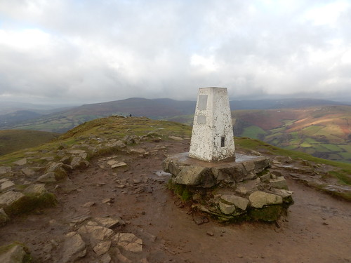Top of Sugar Loaf, Gwent (SO272187, OS Landranger 161), 1st January, 2018