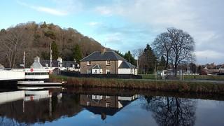 Tomnahurich Bridge, Caledonian Canal, Inverness, Dec 2017