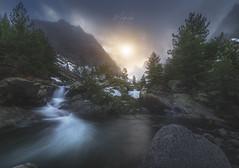 Vallée de la Restonica (C☺rsica) (Mathulak) Tags: restonica montagne vallée neige rivière brume