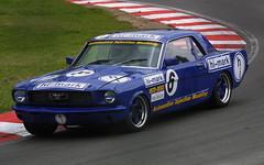 Graham Scarborough - Hi-Mark - Ford Mustang a (Boris1964) Tags: 2005 heritagegrandtourers brandshatch