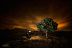 La muerte no me asusta. (Valero-Xixona) Tags: árbol tierra jijona paisajes naturaleza nocturnas night noche canon montaña oscuridad valero