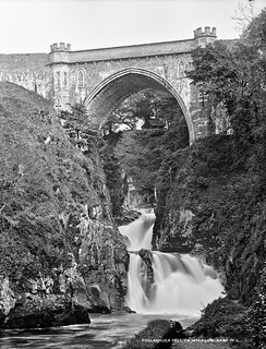 The Waterfall, Poulaphouca, Co. Wicklow