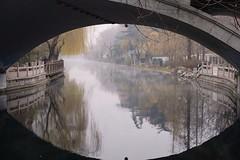 Under the bridge (HonleyA) Tags: fuji fujinon fujifilm xpro2 bridge canal jinan china spring