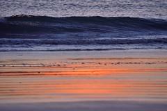 Sea Sun Sand (Raquel Borrrero) Tags: colour orange blue sand sunshine sea arena sol mar orilladelmar coastline beach playa twilight atardecer cádiz andalucía españa nikon crepúsculo coucherdesoleil sunset ocean océano ocaso water agua paisaje seascape naturephotography naturaleza natural naranja azul puesta de ola