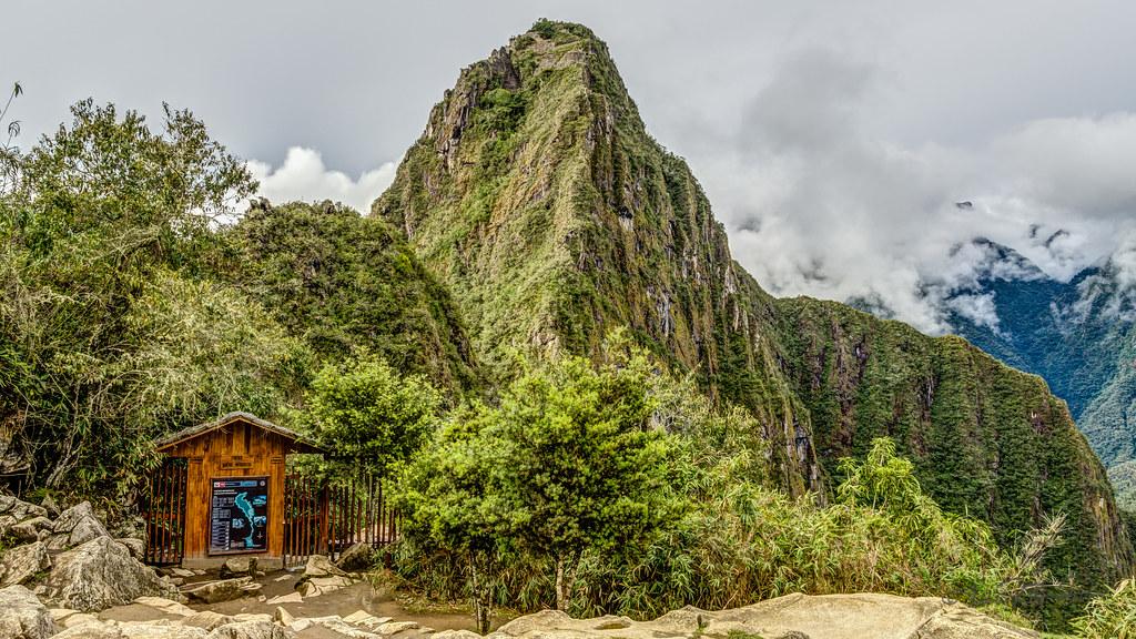 Gate to Huayna Picchu