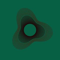 Image of the Day 2017/12/22 (funkyvector) Tags: iotd art corona friedegg mathematics trigonometry