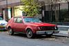 1974 AMC Gremlin (Rivitography) Tags: gnx903 newyork 1974 amc gremlin red hatchback american car vehicle old antique vintage lemon classic newyorkcity nyc manhattan 2017 canon lightroom rivitography