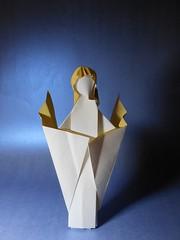 Ange 2017C (Viviane des Papiers) Tags: vivianeberty ange angel origami