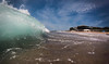 Merewether Mini 2 (AFracturedCrown) Tags: shorebreak beach merewether blue summer gopro