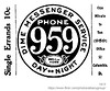 1913 dime messenger service (albany group archive) Tags: albany ny history 1913 dime messenger service phone 959 early 1900s 52 columbia old historical vintage picture photo photograph
