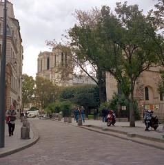 Notre Dame Cathedral (chrismat61) Tags: paris notredamecathedral notredamedeparis france tlrs mediumformat britishtlrs analog