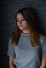 Amber (Flandrach) Tags: portrait girl portret natural light window dark background