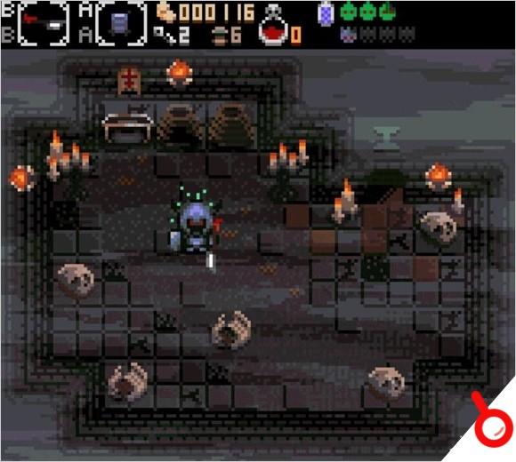 動作地牢冒險《喀戎的地窖》確認將登陸Switch